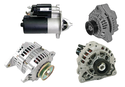Starter motors and alternators New Plymouth